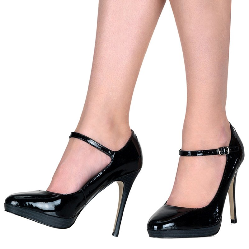Pleaser BLISS-31 lak pumps met naaldhakken maat 37 - 38