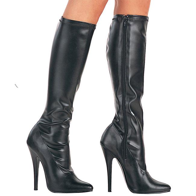 Pleaser DOMINA-2000 lak laarzen met naaldhakken maat 38 - 39